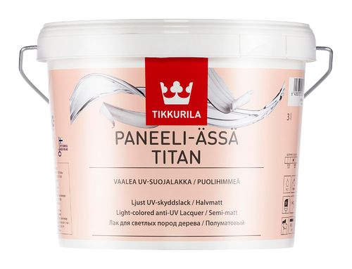 PANEELI ÄSSÄ TITAN, polomatný lak, TIKKURILA