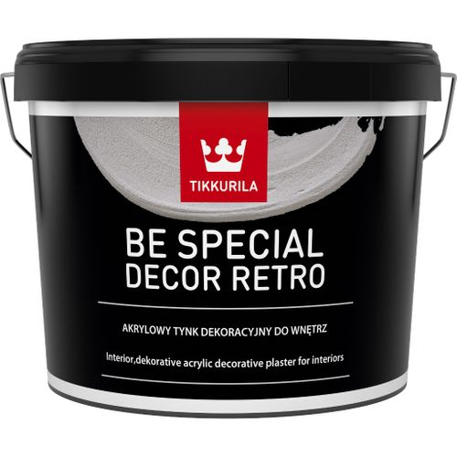 BE SPECIAL DECOR RETRO, dekorativní omítka, TIKKURILA