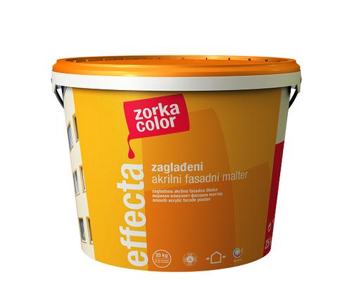 EFFECTA hladká akrylátová omítka, ZORKA