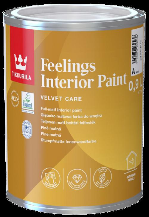 FEELINGS INTERIOR PAINT, omyvatelná barva, TIKKURILA