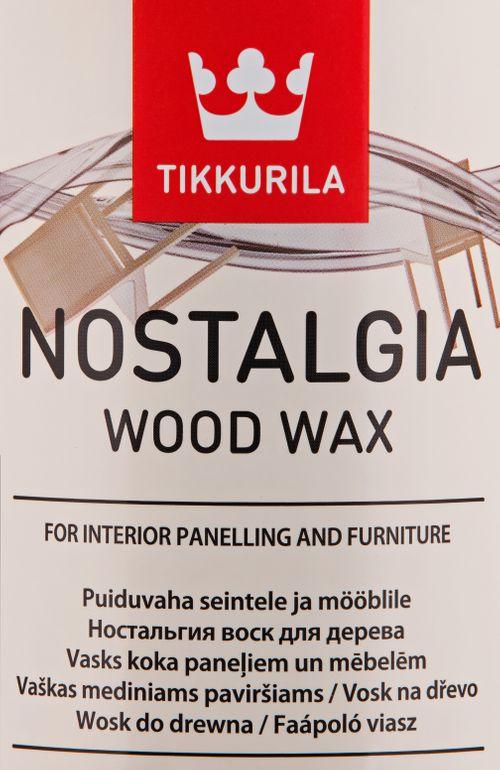 NOSTALGIA WOOD WAX, vosk na dřevo, TIKKURILA