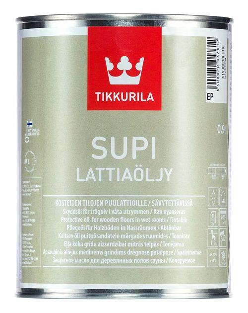 SUPI LATTIAÖLJY, olej na dřevěné podlahy, TIKKURILA